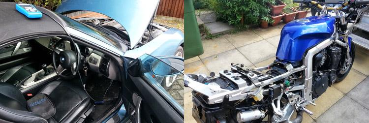 car motorcycle servicing birmingham